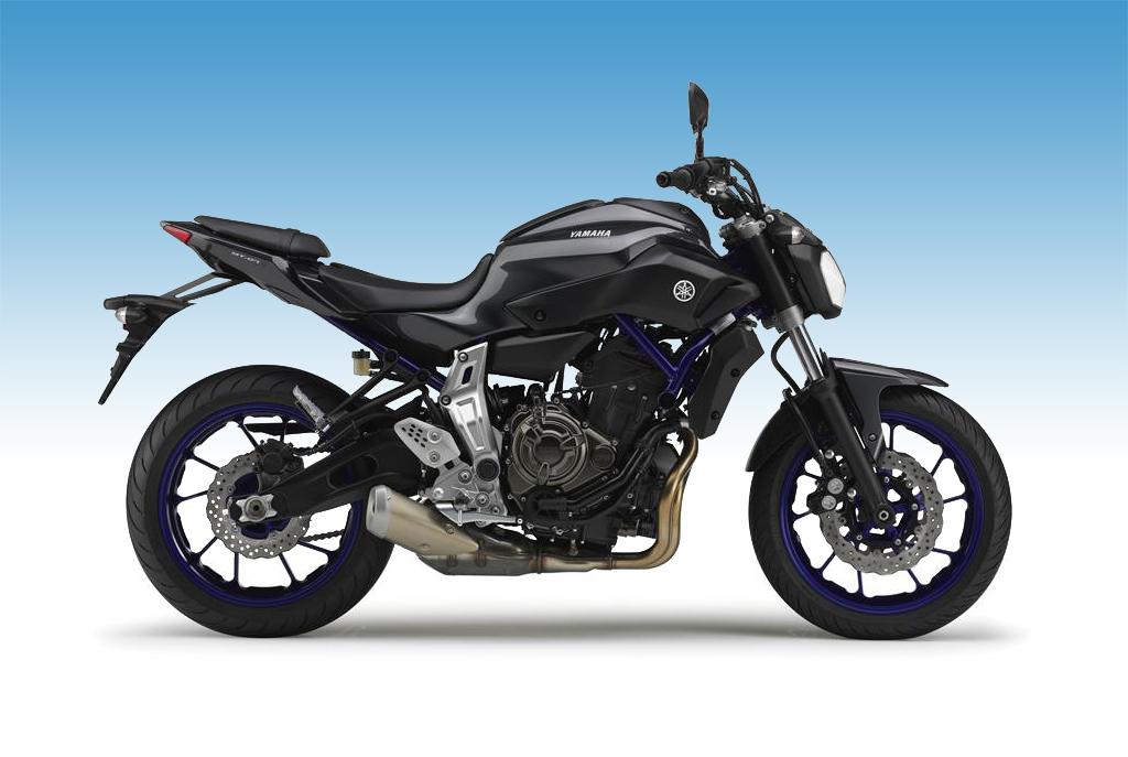 Yamaha MT-07 700 cm³